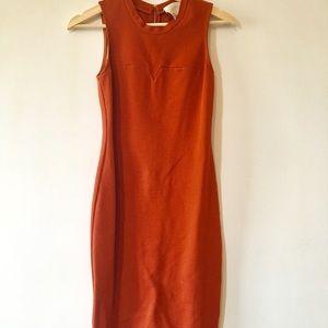 3.1 Phillip Lim Red Sleeveless Dress